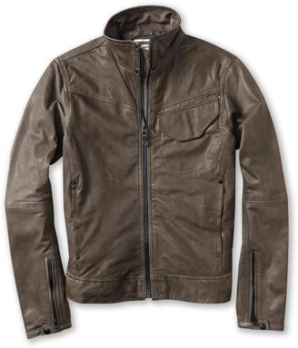 G Star JSF General Leather Jacket