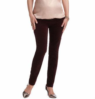 LOFT Maternity Straight Leg Velvet Pants in Sprinkle Print