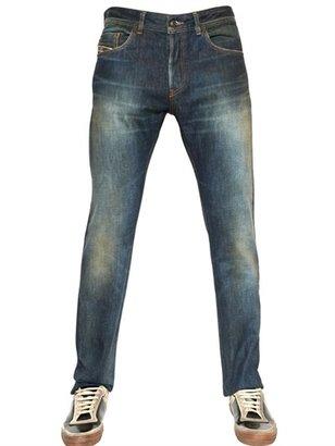 Diesel Black Gold 17cm Excess Selvedge Cotton Denim Jeans