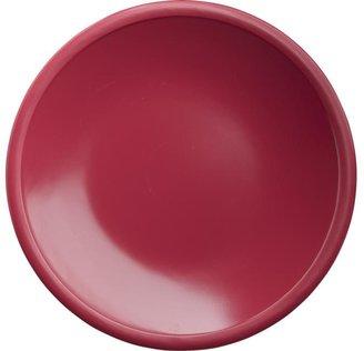 "Crate & Barrel Lunea Melamine Pink 6"" Appetizer Plate"