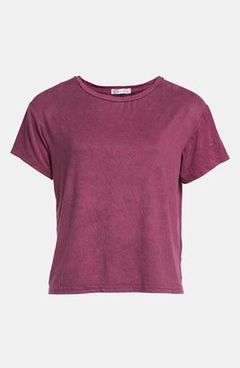 Leith 'Washed Suede' Tee