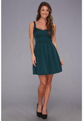 French Connection Sassy Sarah 71ANG Dress (Jewel Green) - Apparel