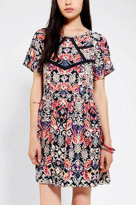 Urban Outfitters Pins And Needles Lace Inset Babydoll Dress