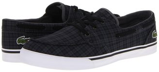 Lacoste Keel CLL 2 (Black/Dark Grey) - Footwear