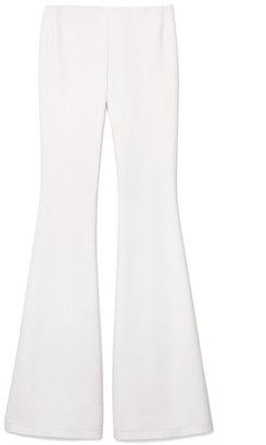 Wes Gordon Preorder Stretch Cotton Silk Flare Pant