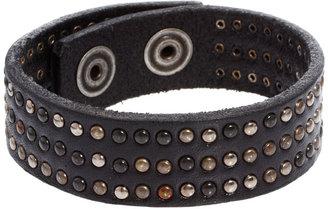 Diesel Ascalios Leather Bracelet
