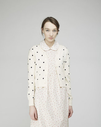 Comme des Garcons Girl dotted cardigan