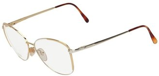 Versace Vintage partly-rimmed optical glasses