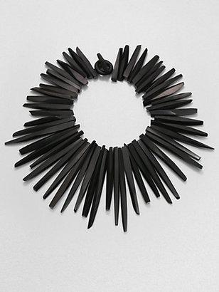 Josie Natori Darkwood Necklace