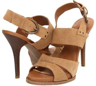 Calvin Klein Jeans Steph (Cognac Suede) - Footwear