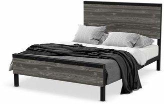 Amisco Winkler Queen Metal And Wood Bed
