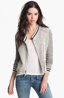 Splendid 'Rydell' Thermal Varsity Jacket