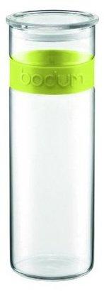 Bodum Presso 64oz Glass Storage Jar, Green