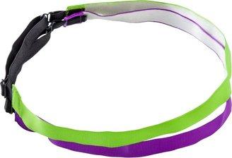 Ulta Purple/Green Ribbon Headwrap 2 Ct