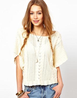 Denim & Supply Ralph Lauren Cable Open Stitch Pullover