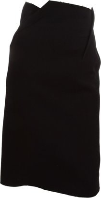 Lanvin Bias Dart Pencil Skirt