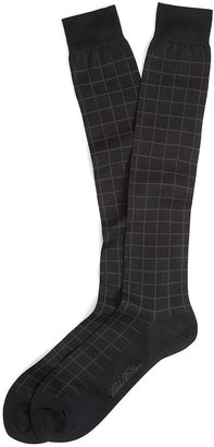 Brooks Brothers Tattersall Over-the-Calf Socks