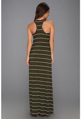 Michael Stars Pippa Island Stripe Hi-Low Dress