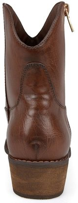 Journee Collection Shadee Western Ankle Boots - Women