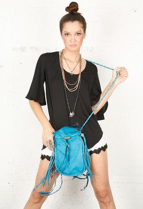 Vanessa Mooney Medicine Bag in Turquoise -