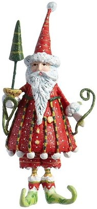 Patience Brewster Mini Dashing Santa Ornament