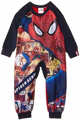 Marvel Boys' Spiderman Comic Strip Onesie