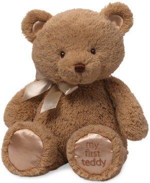 Gund Baby My First Teddy Plush