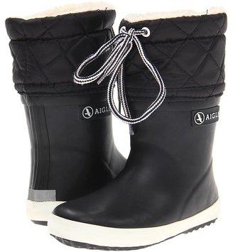 Aigle Kids - Giboul e (Infant/Toddler) (Black/White) - Footwear