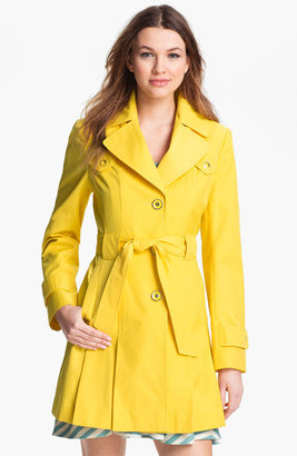 Via Spiga Pleated Trench Coat (Regular & Petite)