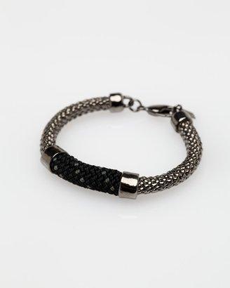 Orly Genger by Jaclyn Mayer Crosby Bracelet In Gunmetal Noir
