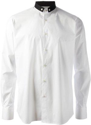 Karl Lagerfeld Lagerfeld contrast collar shirt