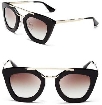Prada Cat Eye Sunglasses, 49mm $385 thestylecure.com