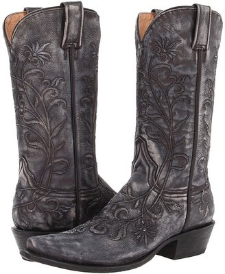 Stetson Desert Flower Snip Toe Boot