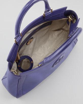 Tory Burch Hannah East-West Satchel Bag, Iris