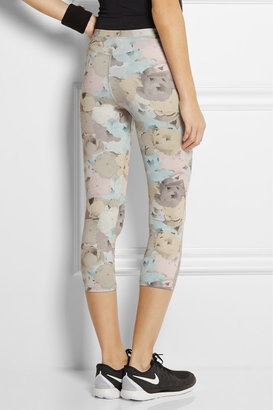 Live The Process Floral-print stretch-jersey leggings