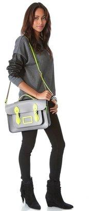 "Cambridge Silversmiths satchel 14"" Designer Satchel"
