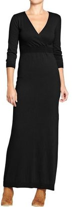 Old Navy Women's Cross-Front Maxi Sweater Dresses
