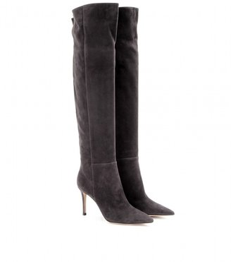 Gianvito Rossi Over-the-knee suede boots