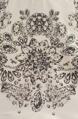 RED Valentino Floral Print Drop Waist Dress