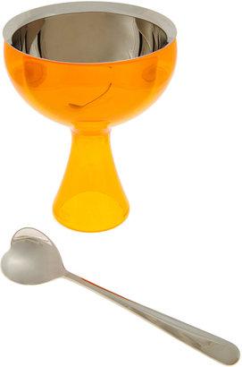 Alessi Big Love Ice Cream Bowl and Spoon