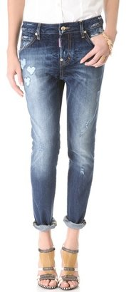DSquared Dsquared2 Cool Girl Heart Jeans
