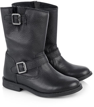 Jigsaw Leather Biker Boot