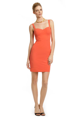 Z Spoke Zac Posen Mercury Orange Sheath