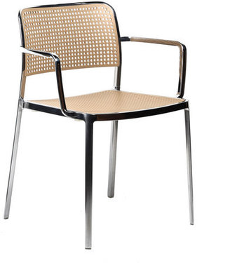 Kartell Audrey Armchair Polished Sand