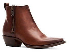 Frye Women's Sacha Moto Leather Booties