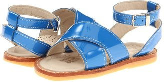Elephantito Toscana Crossed Sandal (Toddler) (French Blue) - Footwear