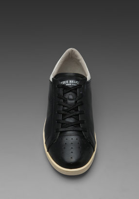 True Religion Lincoln Low Sneaker in Black/Blue/White