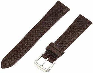 Hadley Roma Hadley-Roma Men's MSM843RB-180 18-mm Genuine Leather Watch Strap