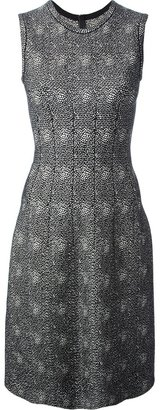 Alaia sleeveless fitted dress