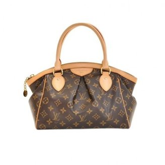 Louis Vuitton excellent (EX Tivoli PM Brown Monogram Canvas Handbag